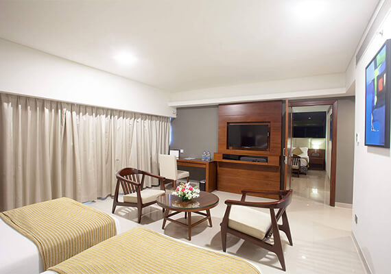 Family Interconnection Room - The Raviz Calicut