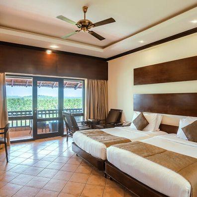 Deluxe River View Room - The Raviz Kadavu