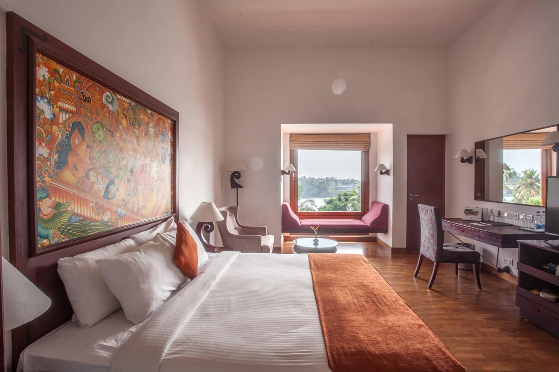 The Raviz Ashtamudi Superior Lake View Room