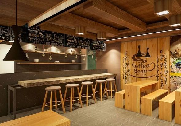Intip desain cafe modern dan nyaman raw architects for Mural untuk cafe
