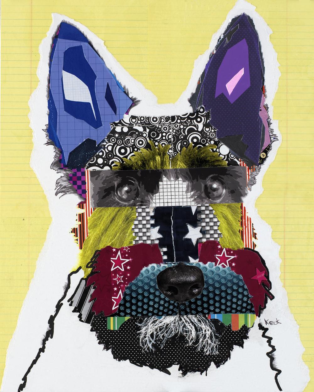 labrador dog art