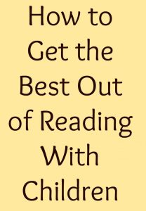 how to get the best out of reading with children