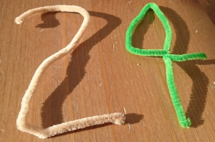 Pipe cleaner numbers