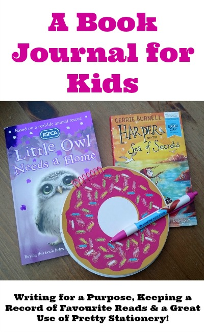 A Book Journal for Kids