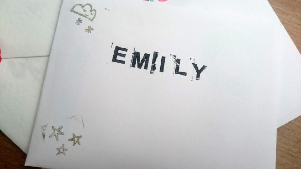 envelope art with stampers