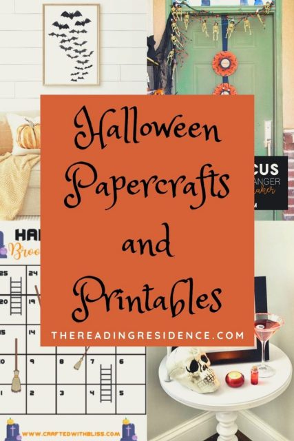 Halloween papercrafts and printables