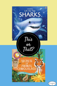 This or That? Animal Books for a 5 Year-old