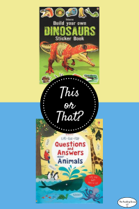This or That? Animal Books for a 6-year-old