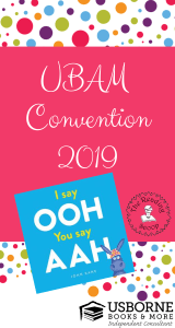 Usborne Books & More Convention 2019