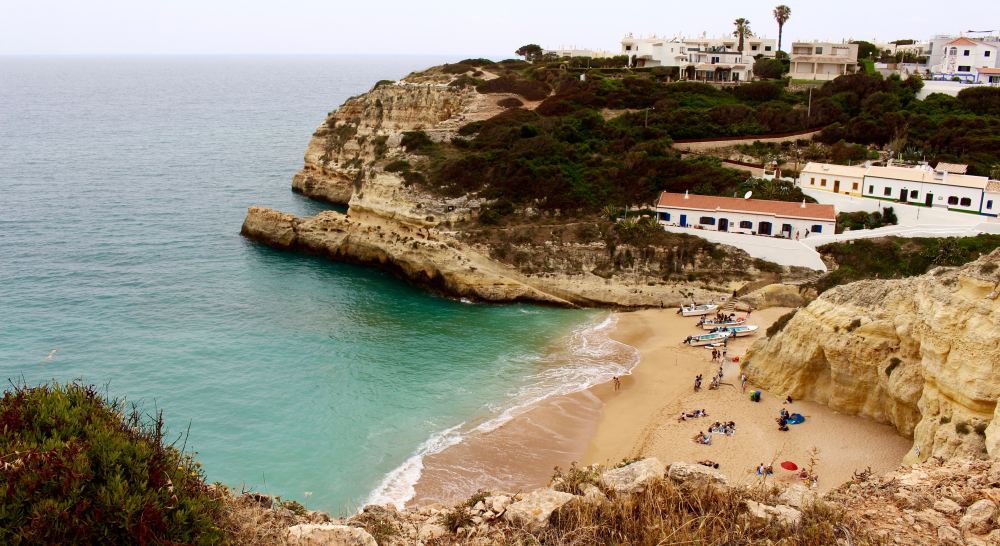 a beach is one of the many fun things to do in Carvoeiro