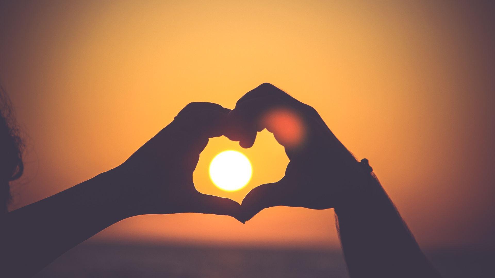 love heart on the Algarve