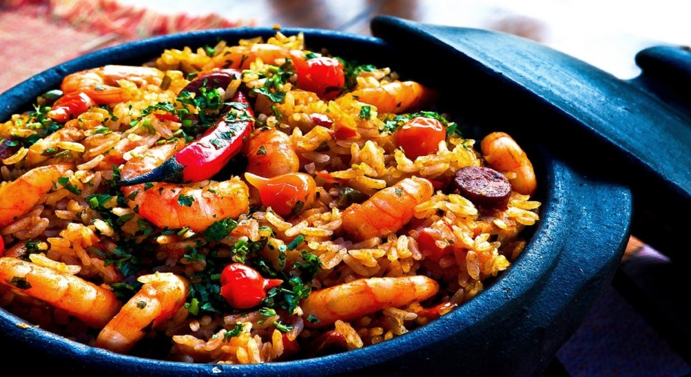 spanish paella rice algarve michelin star restaurants