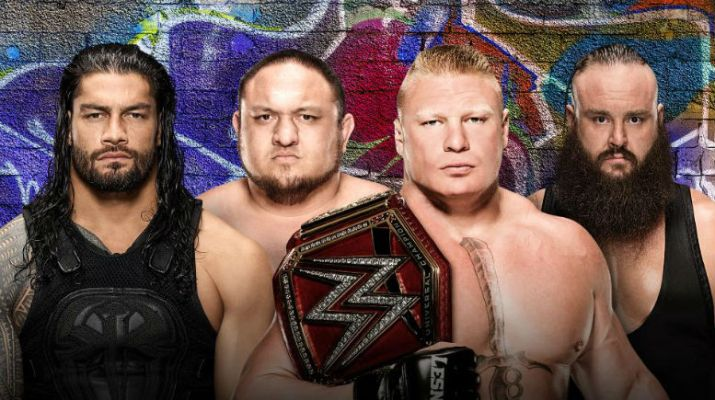 Preview and Predictions: Summer Slam (8/20/2017) Roman Reigns, Samoa Joe, Brock Lesnar, Braun Strowman