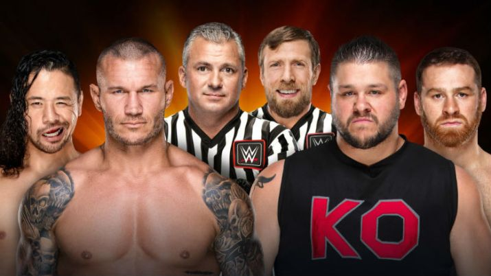 Preview Predictions WWE Clash of Champions 121717 Nakamura Randy Orton Kevin Owens Sami Zayn