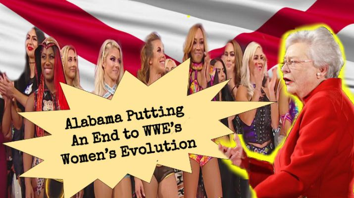 WWE's Evolution PPV Causing Alabama to Consider Warning Message