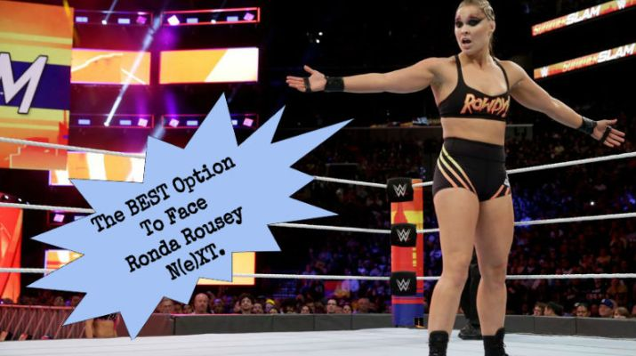 The Only Real Option For Ronda Rousey's Next Feud