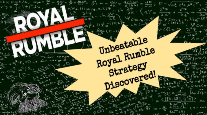 Physicist Confirms Best Way to Eliminate Big Men At Royal Rumble IS With The Slow Push