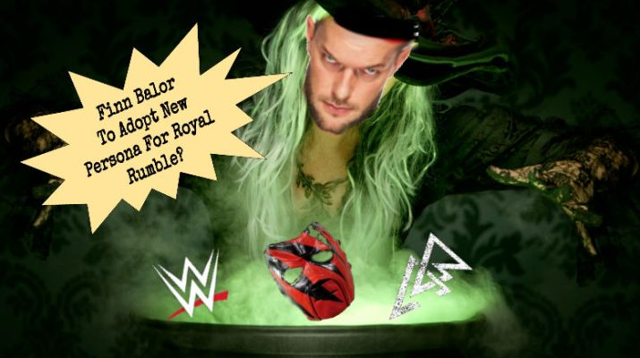 Balor Accidentally Conjures Demon Kane Ahead of Royal Rumble Match