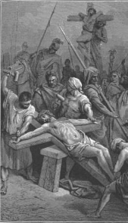 Jesus, Messiah, Savior, crucified, crucifixion, Good Friday, cross, nails, salvation, atonement, Grace, Life