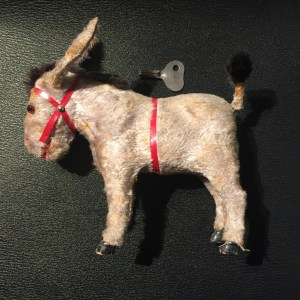 wind-up toy, toy, donkey, antique, ancient