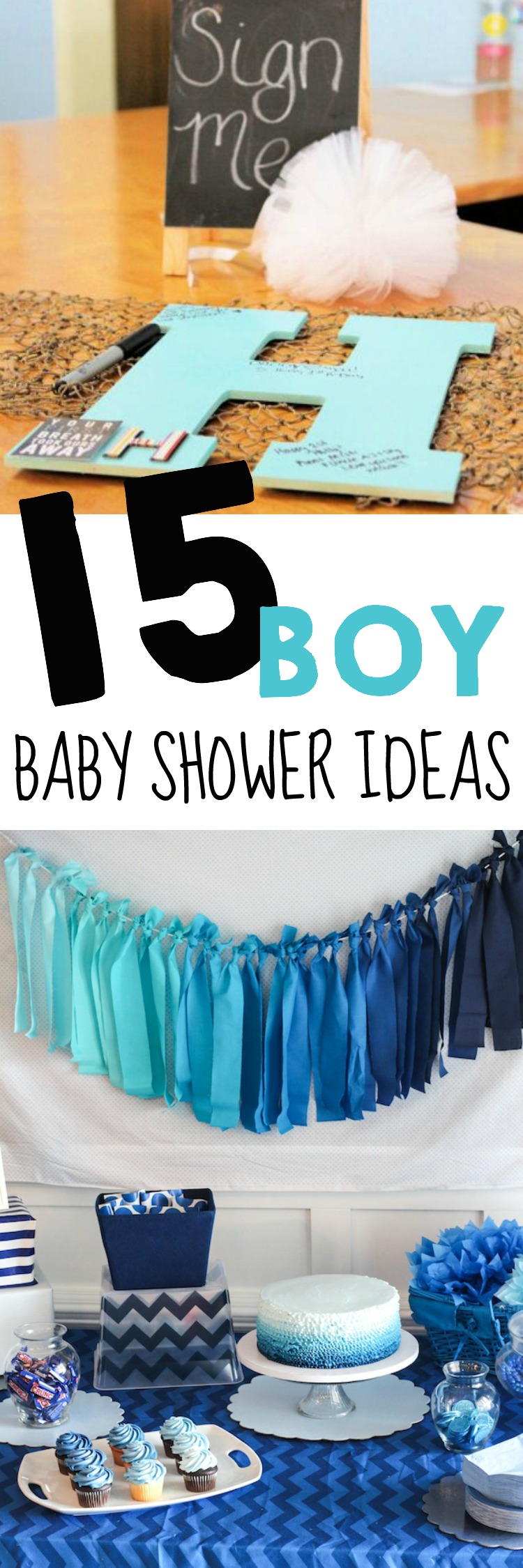 15 Baby Shower Ideas For Boys The Realistic Mama
