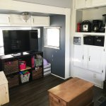 Rv Remodel 200 Square Foot Tiny Home Before And After Pictures The Realistic Mama