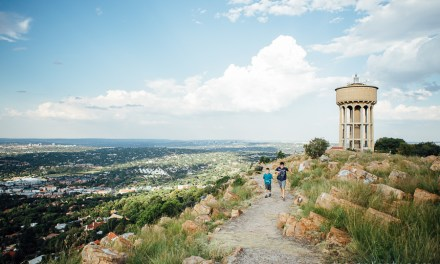 The kids on Northcliff Hill
