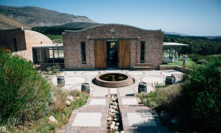 Lunching at Ell at Spookfontein winery