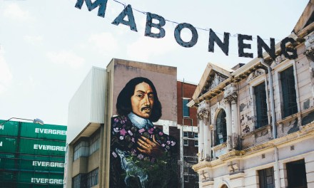 Adventuring in Maboneng with my 50mm lens