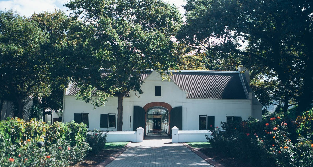 Three wine farms to visit in Franschoek
