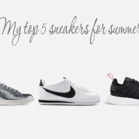 My top 5 sneakers for summer from Superbalist