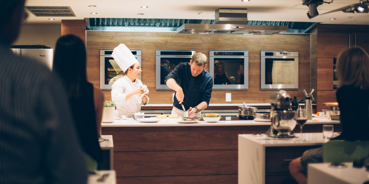 An evening masterclass with Jan Hendrik at Discovery Healthy Food Studio