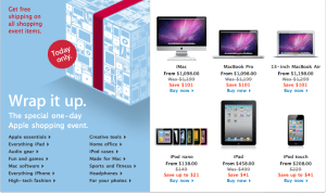 Apple Black Friday Sale