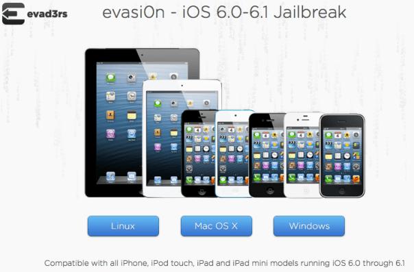 evasi0n Website Picture
