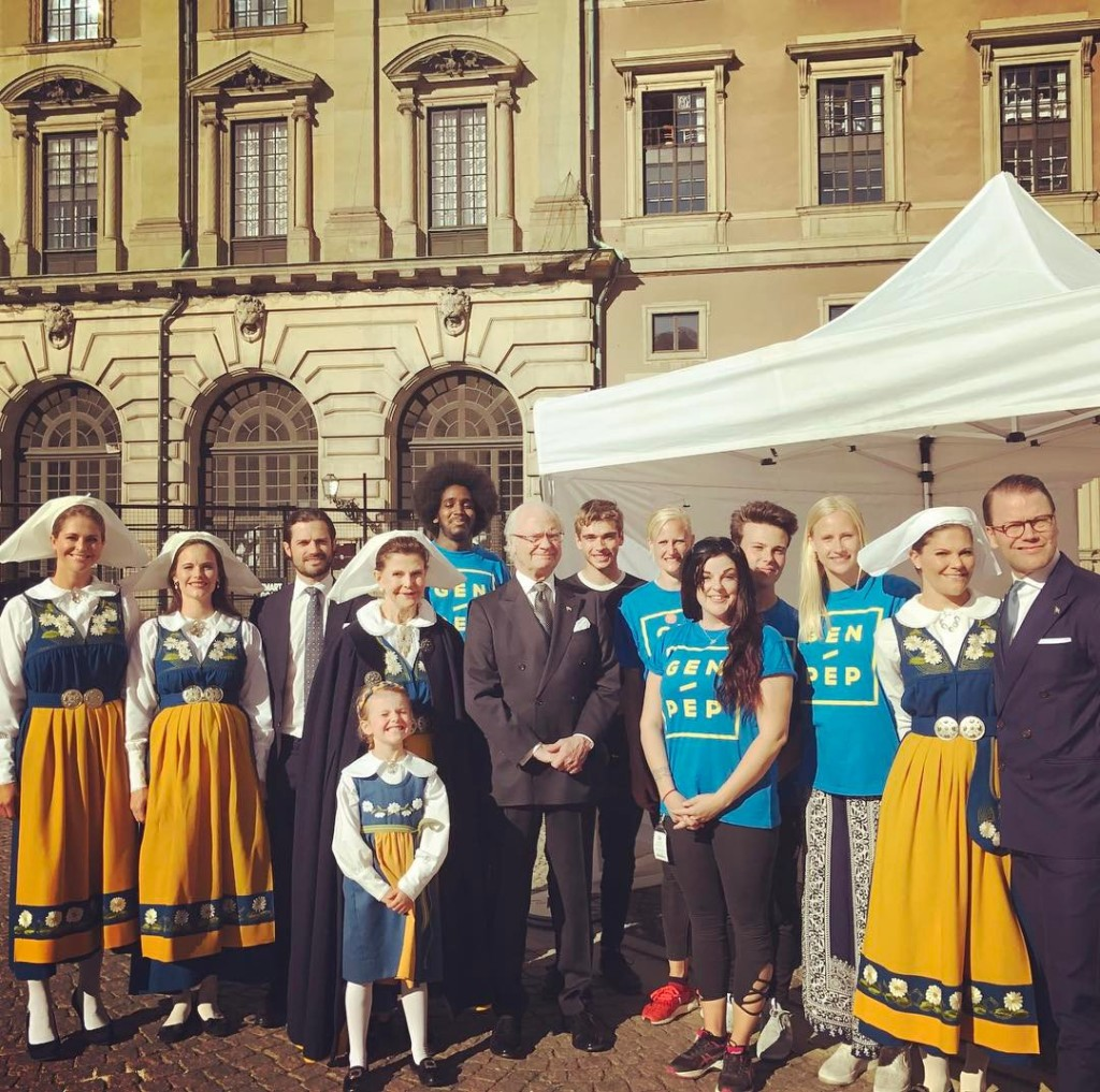 The Swedish Royal Family Attended The Traditional Annual
