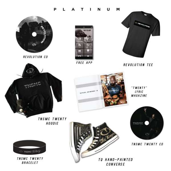 tq merchandise platinum bundle TNSMC revolution