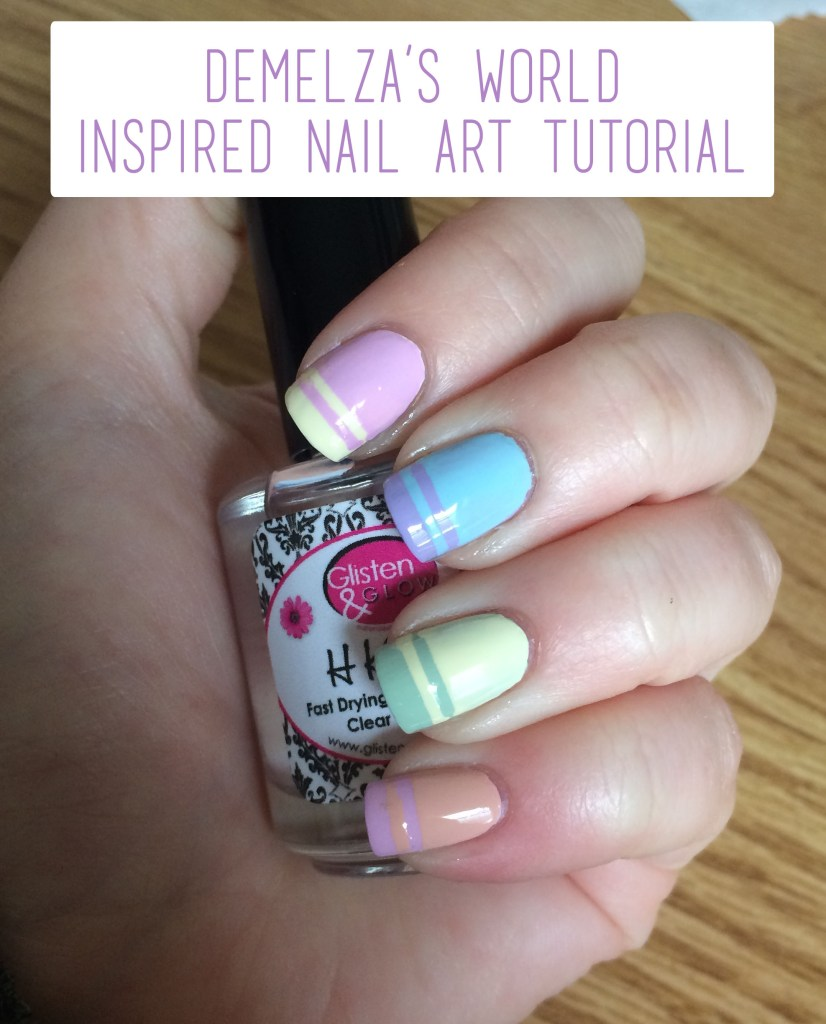 Demelza's Inspired Nail Art Tutorial Overview | The Rebel Planner copy