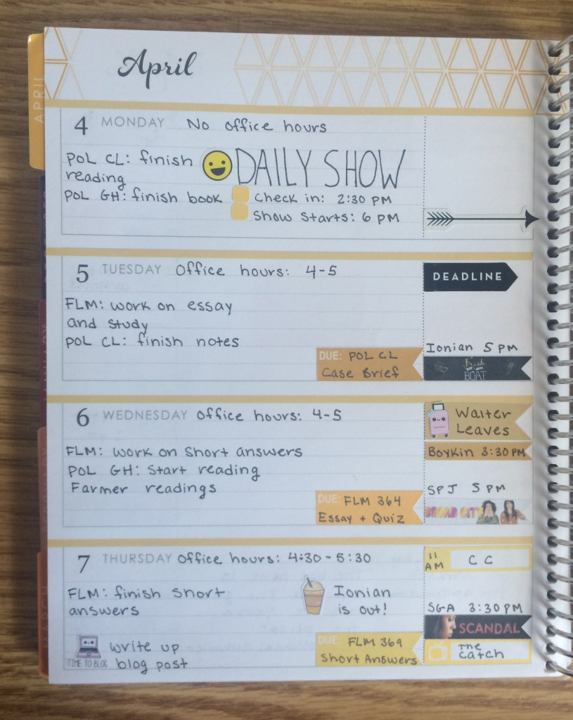 Erin Condren Life Planner Left Side | The Rebel Planner