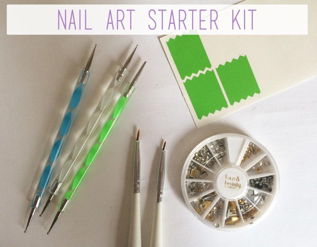 Nail Art Starter Kit Overview | The Rebel Planner
