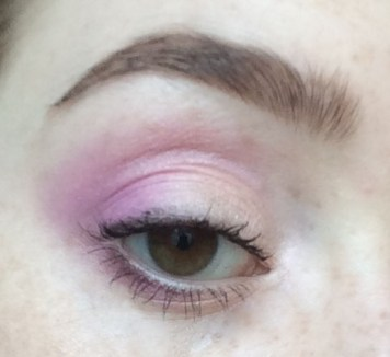 Peach and Pink Spring #FOTD Closeup | The Rebel Planner