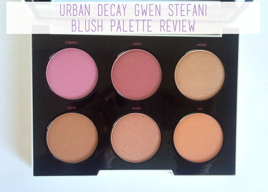 Urban Decay Gwen Stefani Blush Palette Review | The Rebel Planner