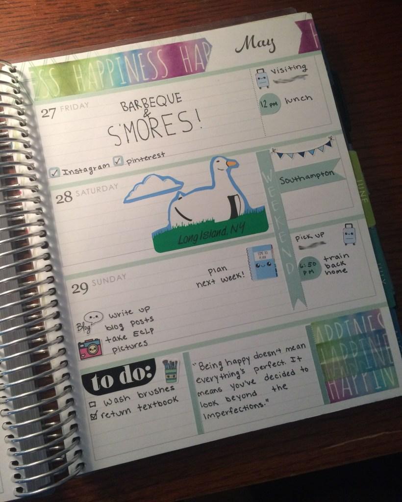 A Week in My Erin Condren   The Rebel Planner