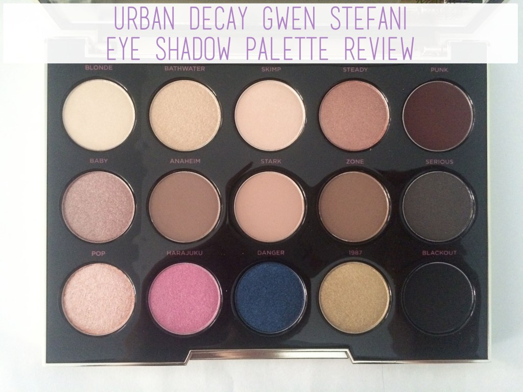Urban Decay Gwen Stefani Palette | The Rebel Planner