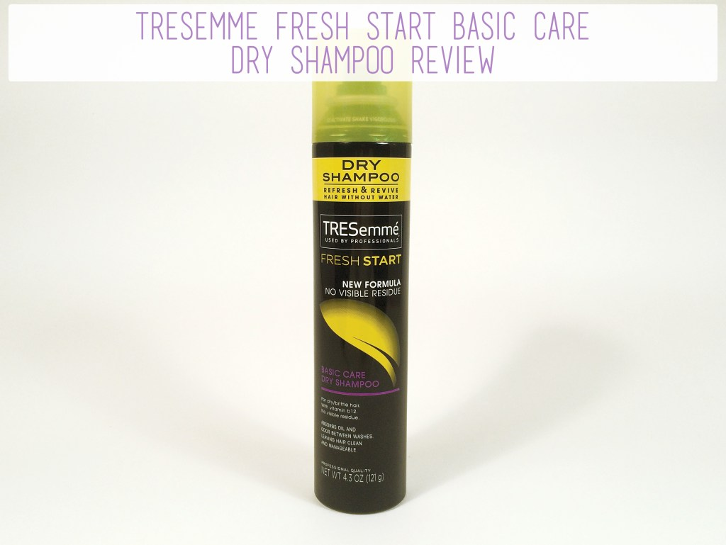 TRESemme Fresh Start Basic Care Dry Shampoo Review | The Rebel Planner