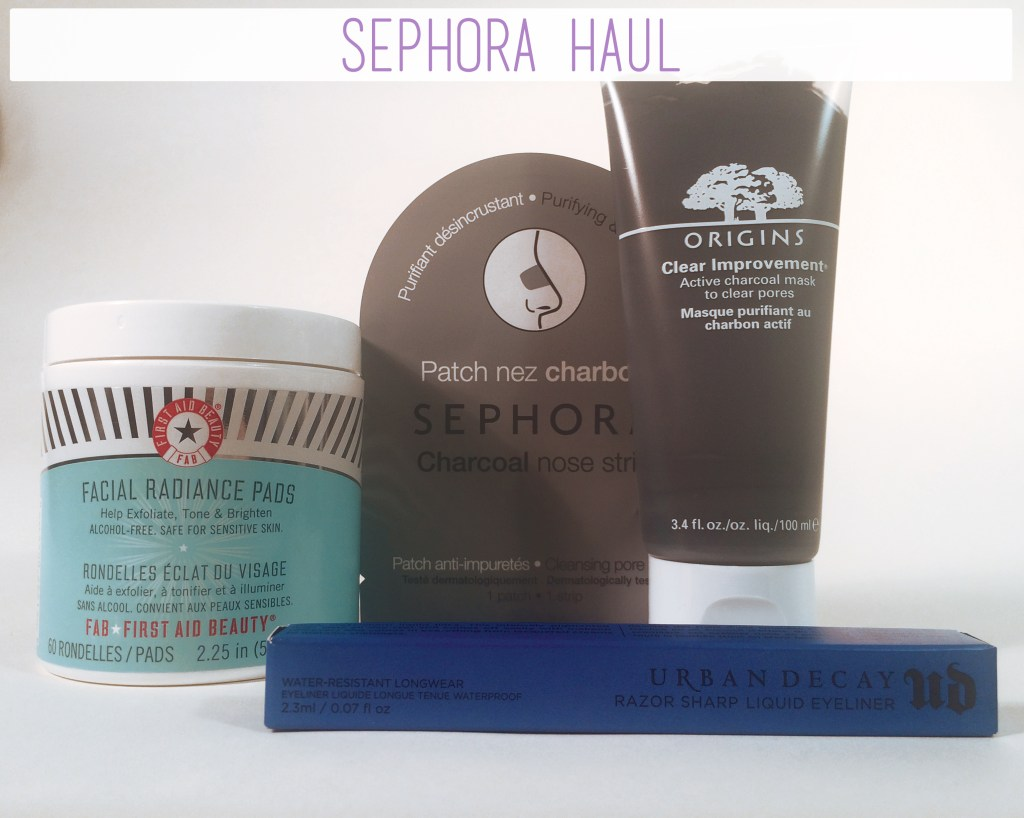 Sephora Haul | The Rebel Planner