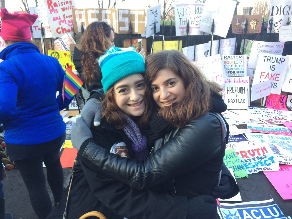 My Experience at the Boston Women's March for America | The Rebel Planner