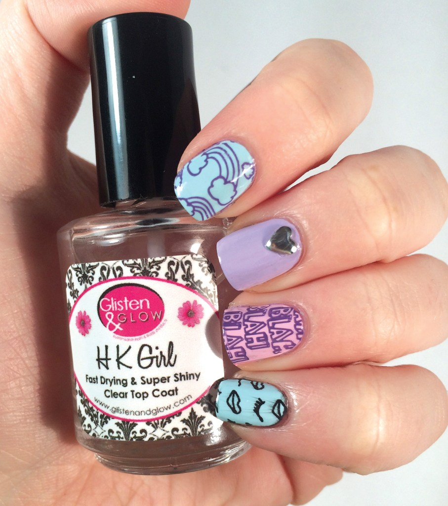 MoYou London Tumblr Girl Plate 02 #NOTD | The Rebel Planner