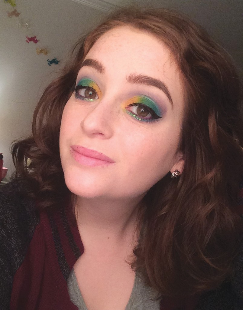 Urban Decay Full Spectrum Unicorn #FOTD | The Rebel Planner