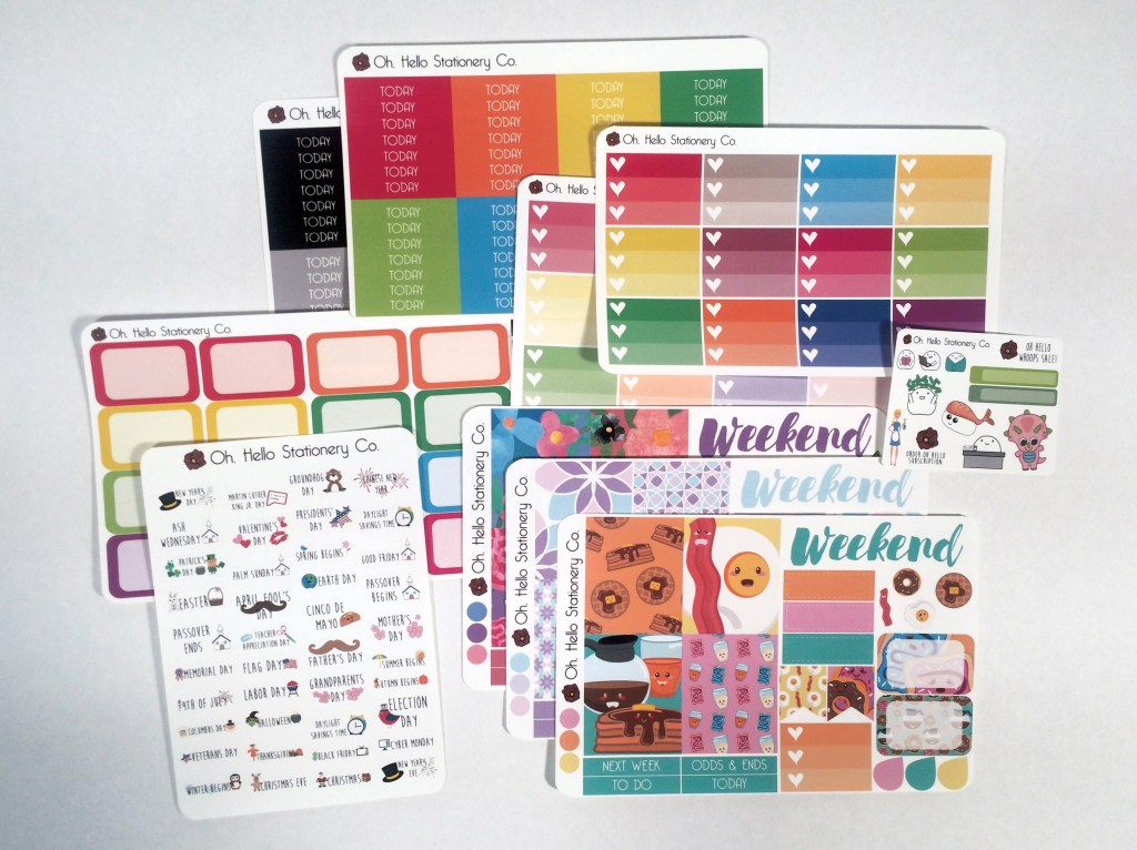 Oh, Hello Stationery Co. Haul