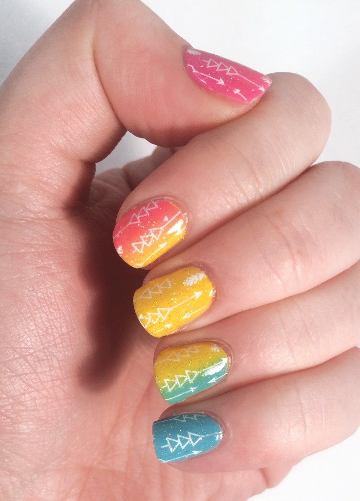 Rainbow Arrows #NOTD